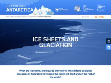 Ice sheets and glaciation pic