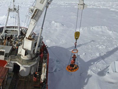 JCR geordie lift - weddell sea pbu