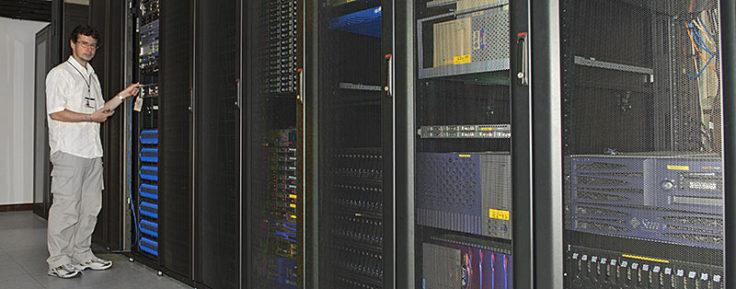 Computer room, BAS Cambridge