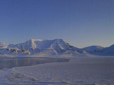 Longyearbyen on Svalbard.