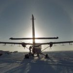 Twin otter with geophysical kit