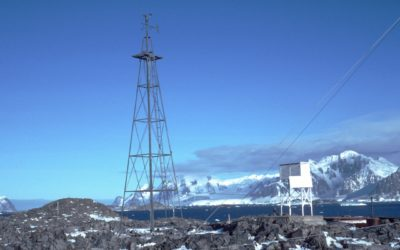 Meteorological instruments at Rothera Research Station