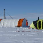 Bryan coast ice core camp