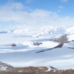 View of the East Antarctic Ice Sheet in Coats Land