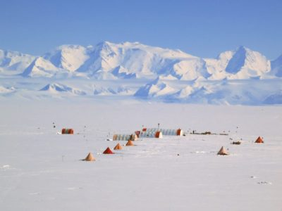 Fletcher Ice Core Drilling Camp