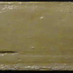 A marine sediment core split ready for sampling