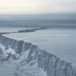 Rifting in Larsen B Ice Shelf before its breakup in 2001
