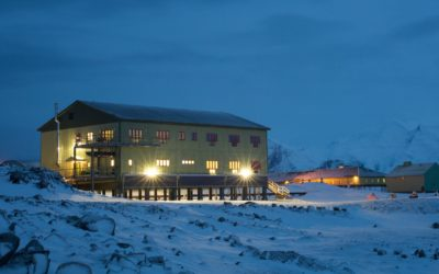 Bransfield House, Rothera Research Station, Rothera Point, Adelaide Island, Antarctic Peninsula.