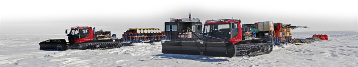 Procurement and customisation of vehicles for Antarctic service takes place in Cambridge