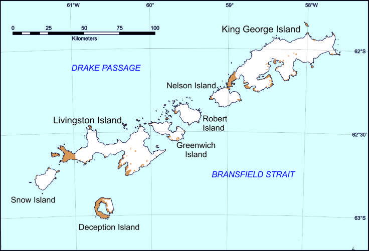 The South Shetland Islands