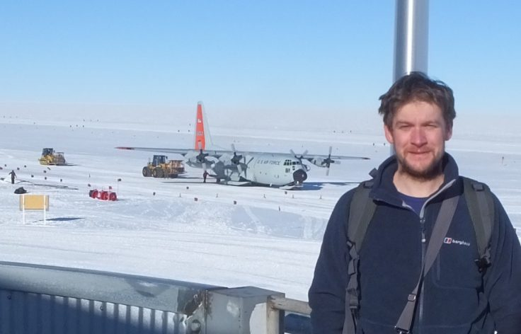 A final photo with the C130 in the background