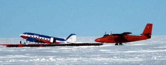 Basler and BAS Twin Otter deep field