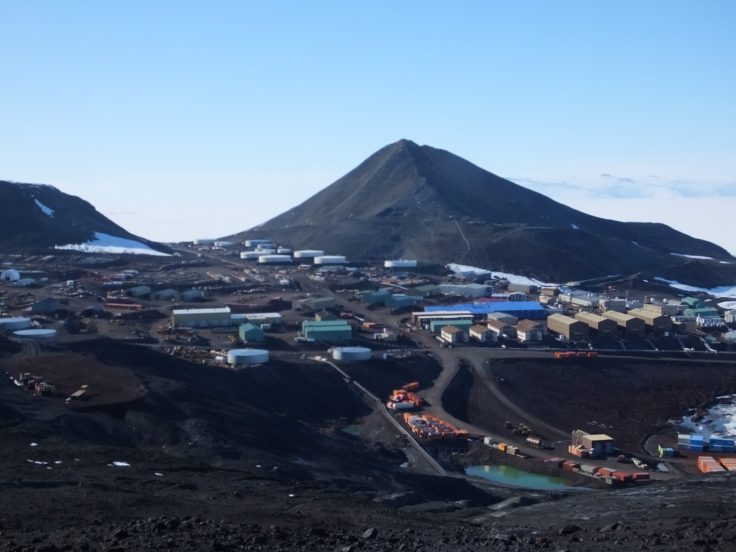 McMurdo Station - home to around 1000 people in the Antarctic summer