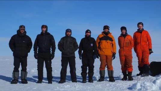 Polargap team