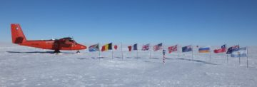 Record warming at the South Pole