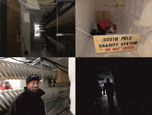 tunnels at south pole station