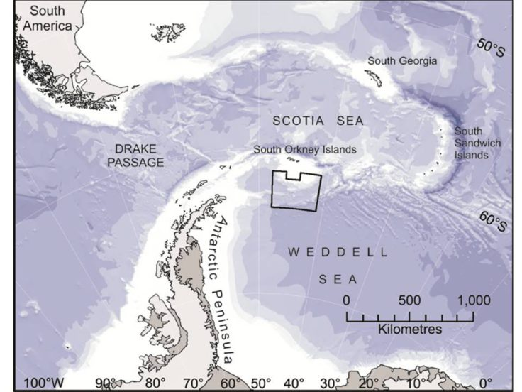 The South Orkney Islands Southern Shelf Marine Protected Area (MPA)
