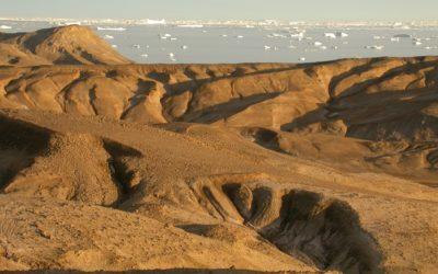 Antarctic crater - Vanessa Bowman