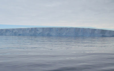 The southernmost front of Pine Island Glacier