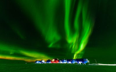 A stunning image of the British Antarctic Survey