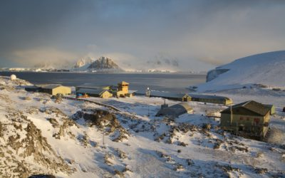 Rothera Research Station, Rothera Point, Adelaide Island, Antarctic Peninsula.