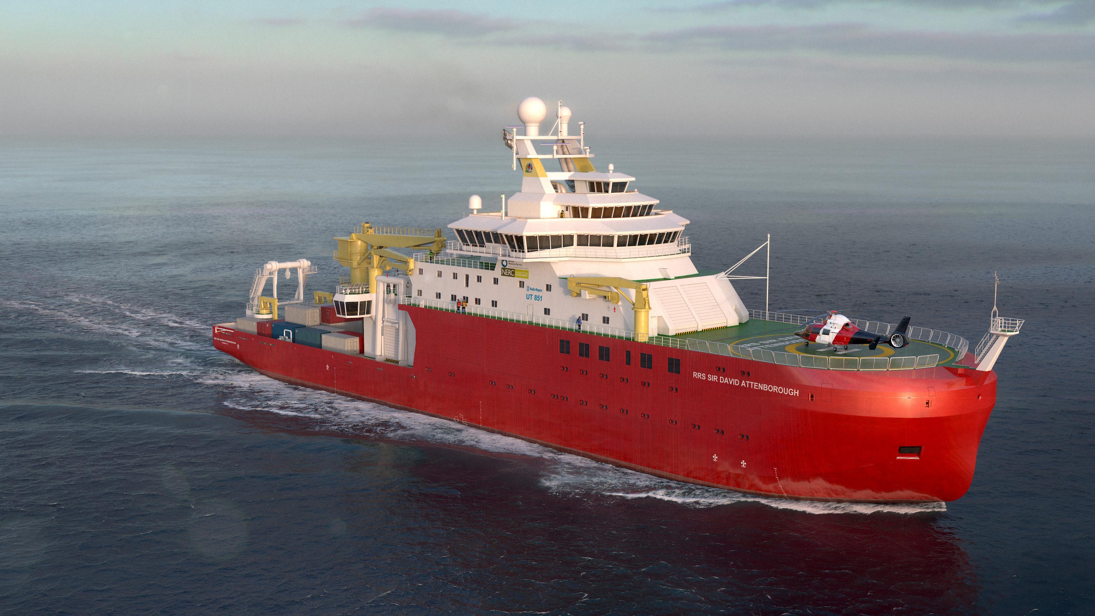 RRS Sir David Attenborough - British Antarctic Survey