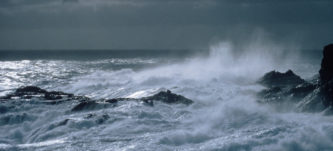 South-westerly gale at Bird Island