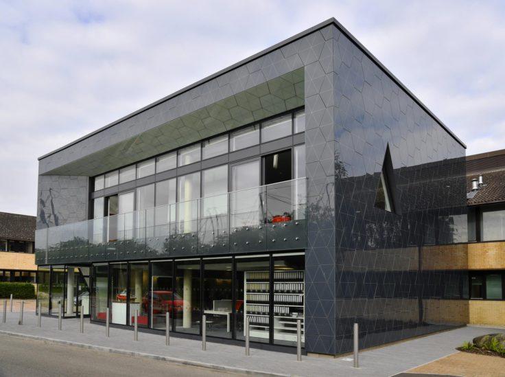 The British Antarctic Survey Aurora Cambridge building