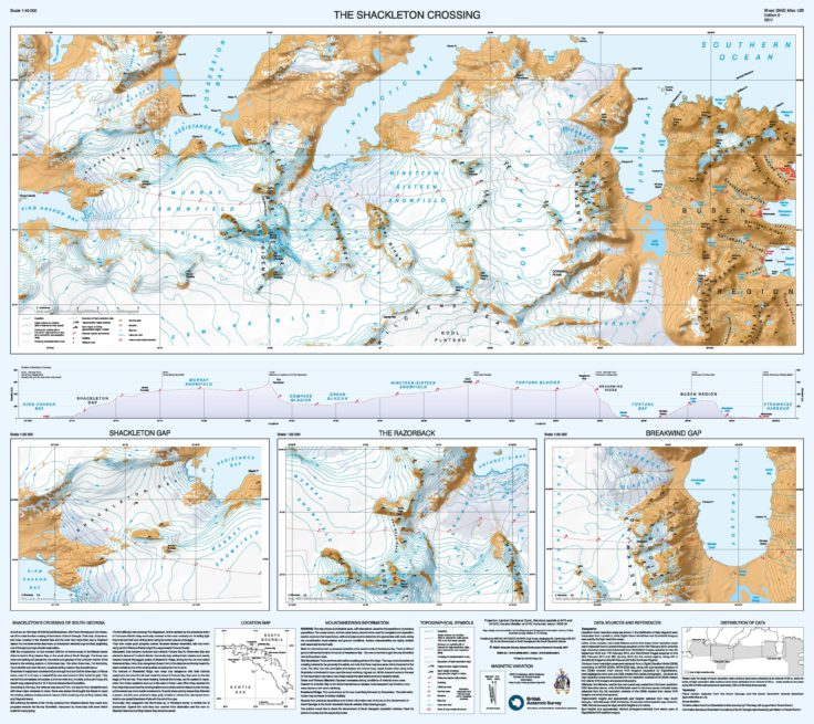 New map of South Georgia unveiled - News - British Antarctic ...
