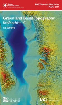Greenland Basal Topography - British Antarctic Survey