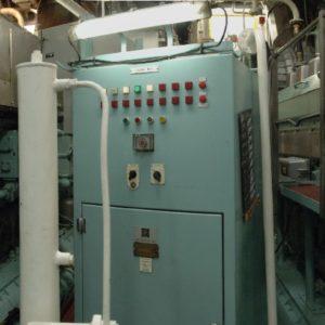 Engine room on the JCR