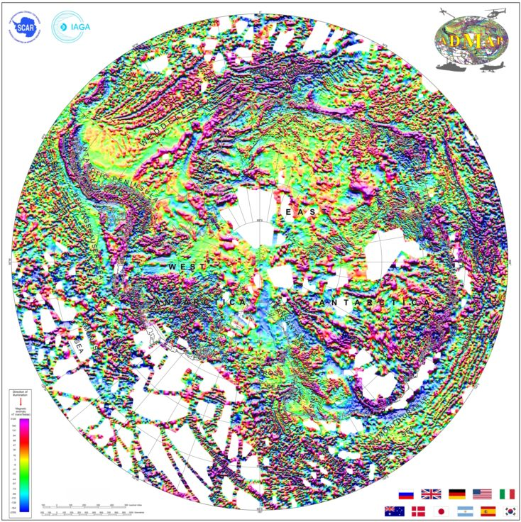 New magnetic anomaly map helps unveil Antarctica - News - British ...