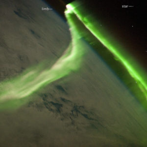 Aurora Australis from the ISS