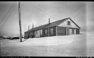 Bleak House, Whalers Bay, Deception Island, 4th January 1946. Photographer: A W Reece. Archive ref: AD6/19/1/B134/8