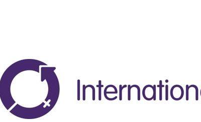 Logo, company name.