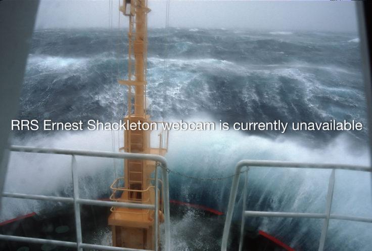 RRS Ernest Shackleton webcam is currently unavailable