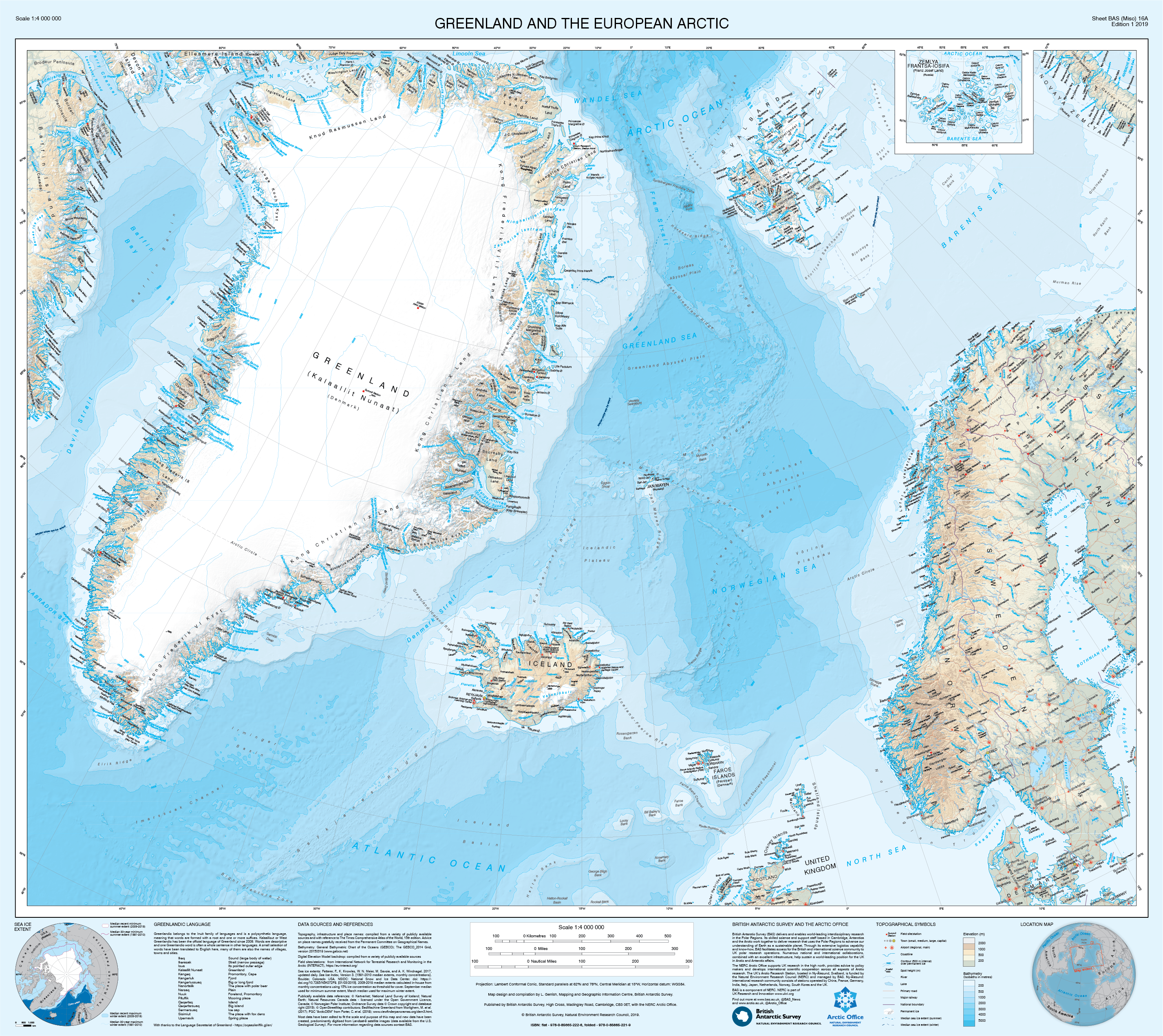New map of Greenland reveals fast-changing environment ...