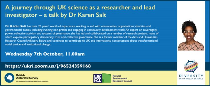 7 October Flyer Karen Salt Webinar