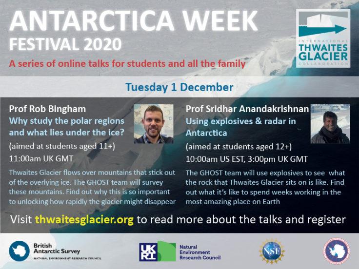 Antarctica Festival Thwaites flyer_talks