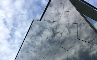 Front side of BAS Innovation Centre building