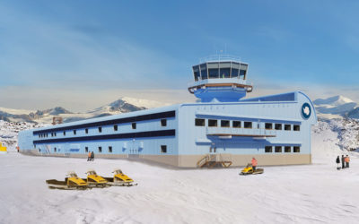 Discovery Building at Rothera Research Station
