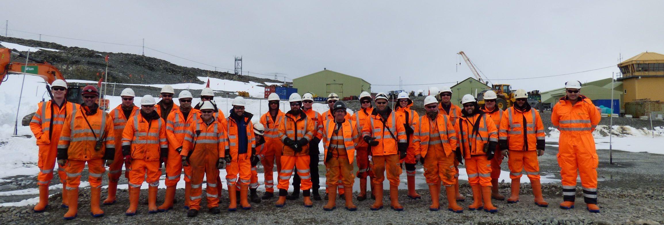 Photo of Discovery Building Construction Team Season 2Team
