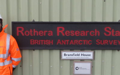 Photo of Christopher Robert Lloyd at Rothera Research Station