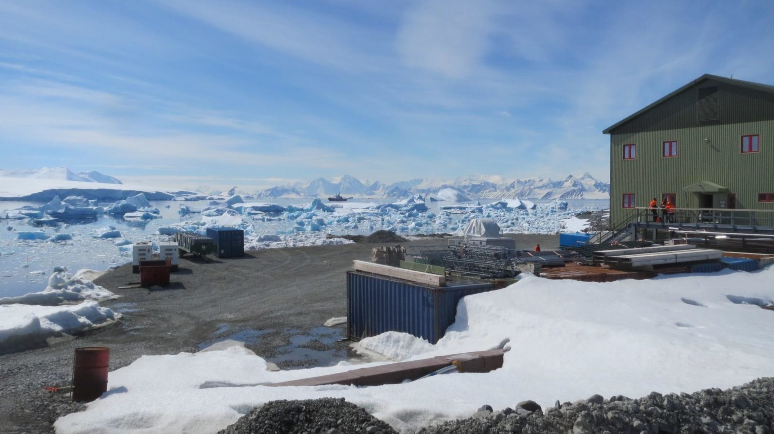 Photo of New Bransfield House at Rothera Research Station