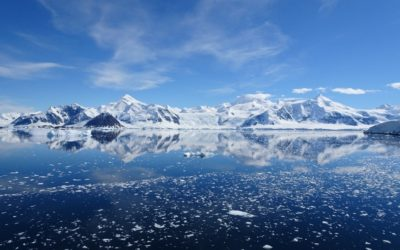 Picture of Ryder Bay in Antarctica