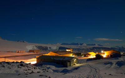 Midwinter at Rothera Research Station