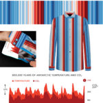 Image composition with slimate graphs and shirt design details