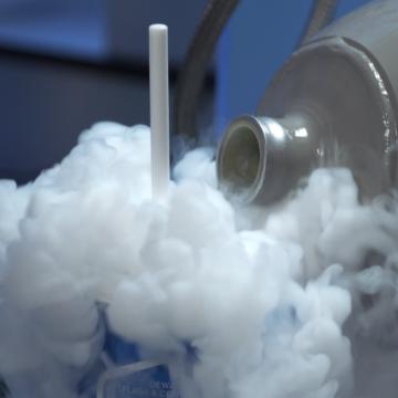 A close up of smoke